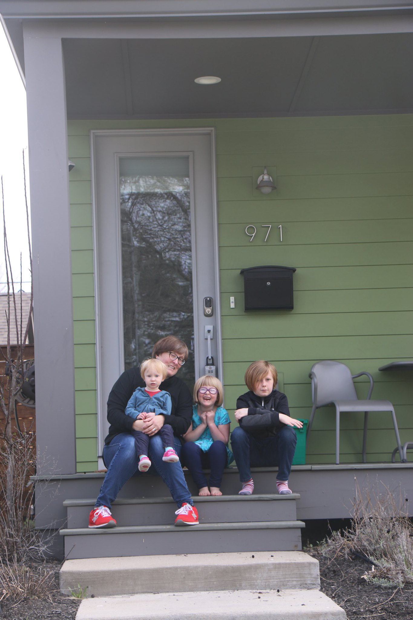 Amanda Tafflinger and family
