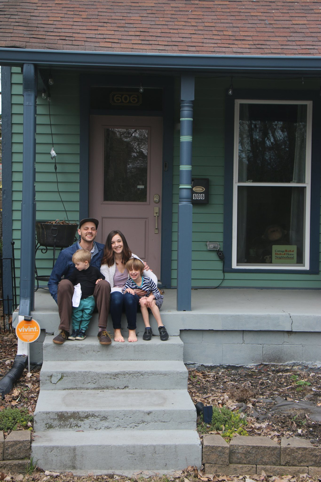 Matt and Jess Martin and family