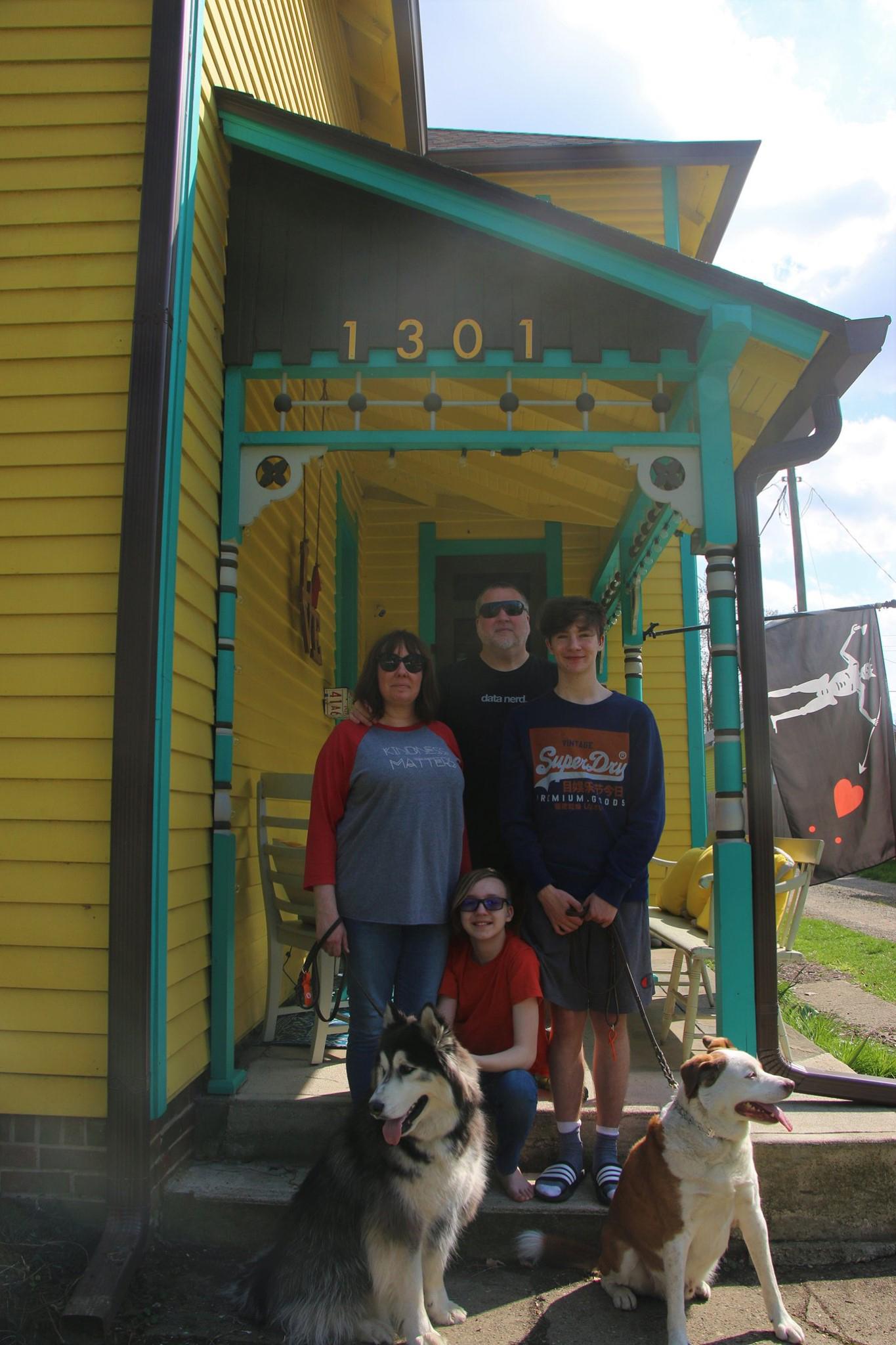 Shane, Samantha, Furie, and Kass Weinbrecht